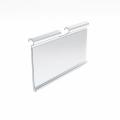 Ценник пластиковый прозрачный 39х72 мм.