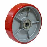 Ролик для гидравлических тележек P80+1 200х50 мм (полиуретан)