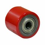 Ролик для гидравлических тележек LR93+1 80х70 мм (полиуретан)