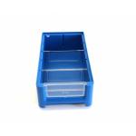 Ящик полочный 300х156х90 сплошн (синий) (гфр 58)