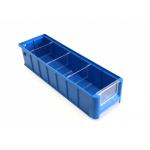 Ящик полочный 400х117х90 сплошн (синий) (гфр 58)