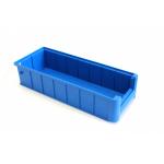Ящик полочный 400х156х90 сплошн (синий) (гфр 42)