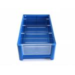 Ящик полочный 400х234х140 сплошн (синий) (гфр 16)