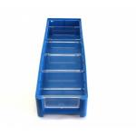 Ящик полочный 500х156х90 сплошн (синий) (гфр 35)