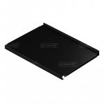Полка металлическая 597х327 мм., цвет черный
