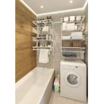 Гардеробная система для ванной комнаты