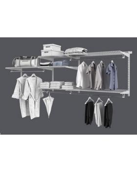 Комплект гардеробной системы Титан - GS - 450