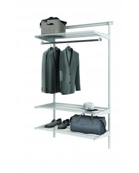 Комплект гардеробной системы Титан - GS - 350S