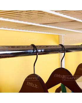 Перекладина для вешалок 640 мм.